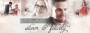 Oliver + Felicity|Timeline cover #09