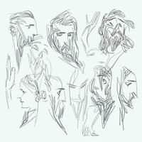 Sketches by alexandreneves