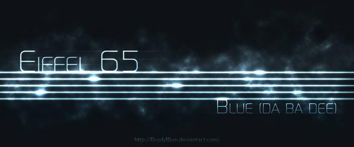 Eiffel 65 'Blue (Da Ba Dee)' 4K BluLites wallpaper