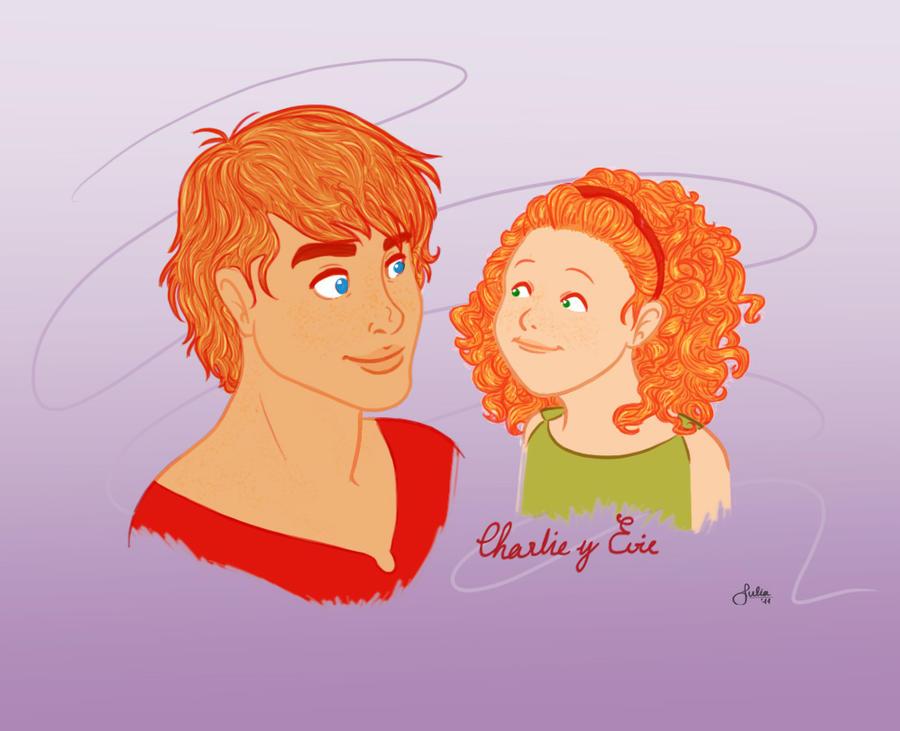 Charlie and Evie by parv89