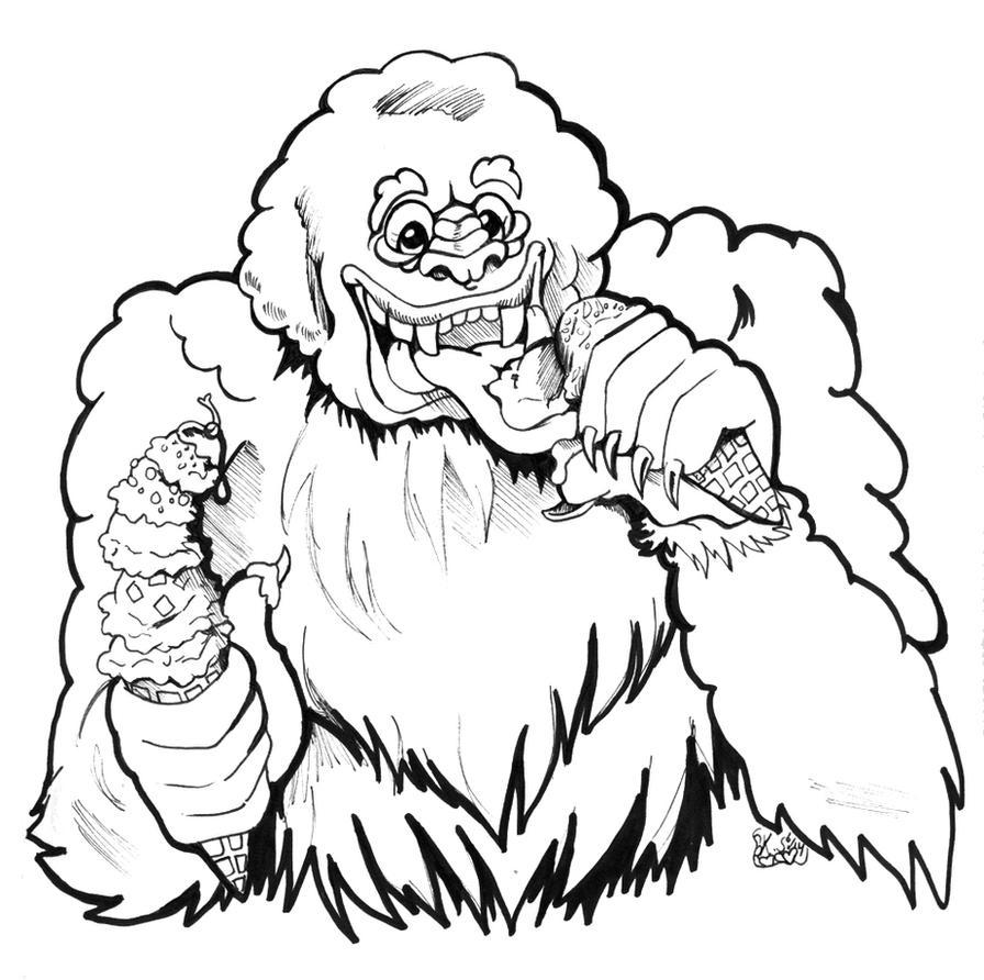 Abominable Icecream by bastett