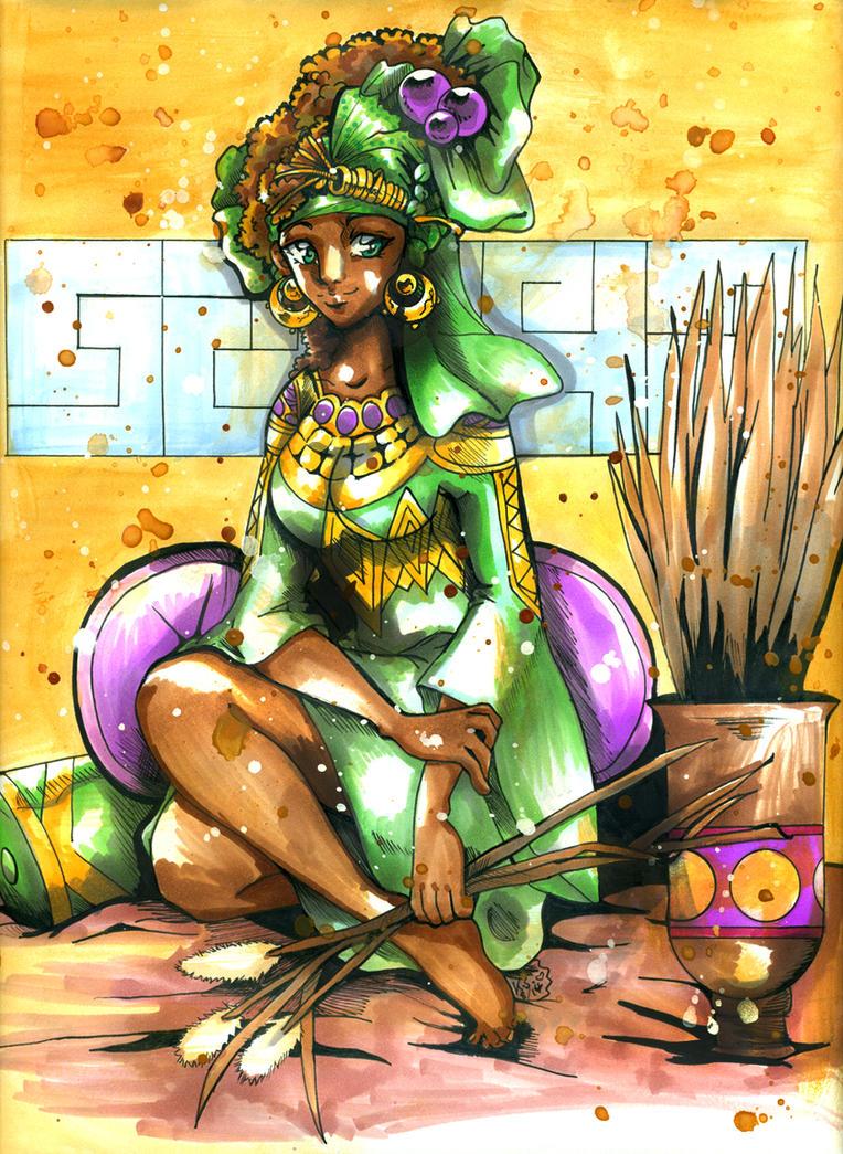 African Maiden CO by bastett