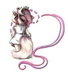 Chibi Furry: Squirel Nurse by bastett