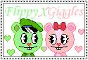 FlippyXGiggles Stampeh :D by HappyTreeKat14