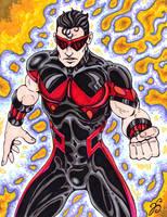 Wonder Man Dammit! color comp. by Dharmajon