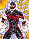 Wonder Man Dammit! color comp.