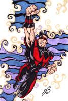 Wonder Man color comp by Dharmajon