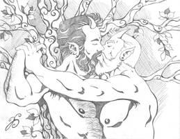 Satyr's Kiss! by Dharmajon