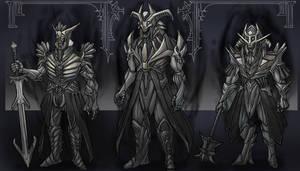 evil fantasy armor set
