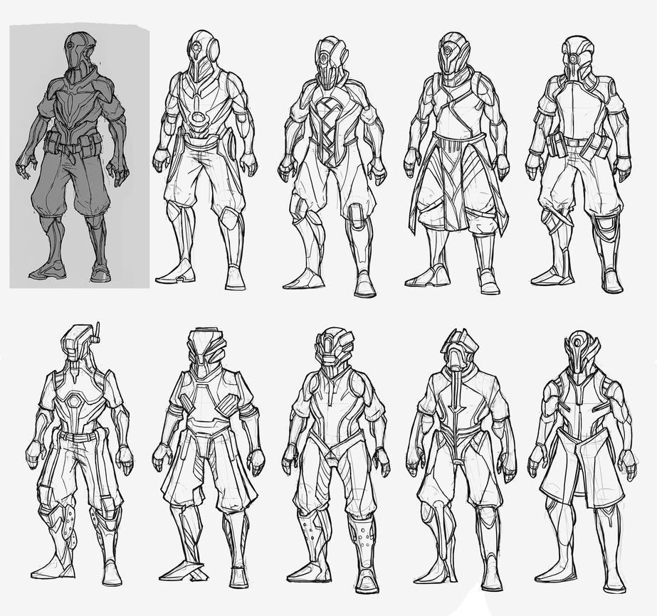 Character Design Set : Character design set by krayzieedi on deviantart