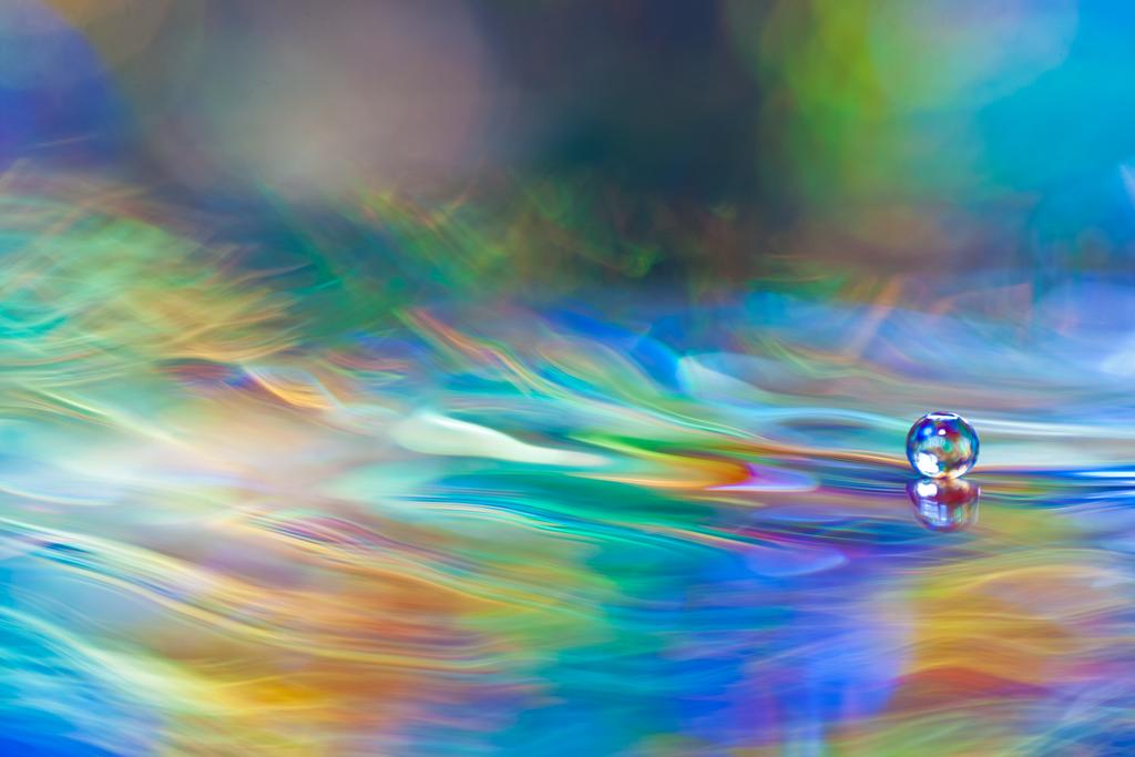 Tanzen auf Wellen aus Licht by DanielHeydecke