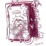 'LOCKING ME IN THE BASEMENT DOESNT WORK' by emilyldraws0303