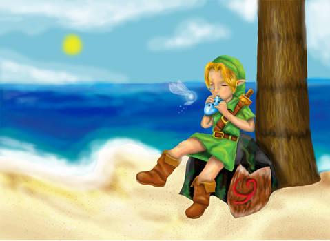 Music in the beach