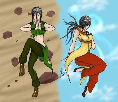 Avatar OC Earth/Air by hell-kill