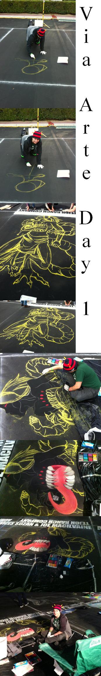 Via arte day 1 by hell-kill