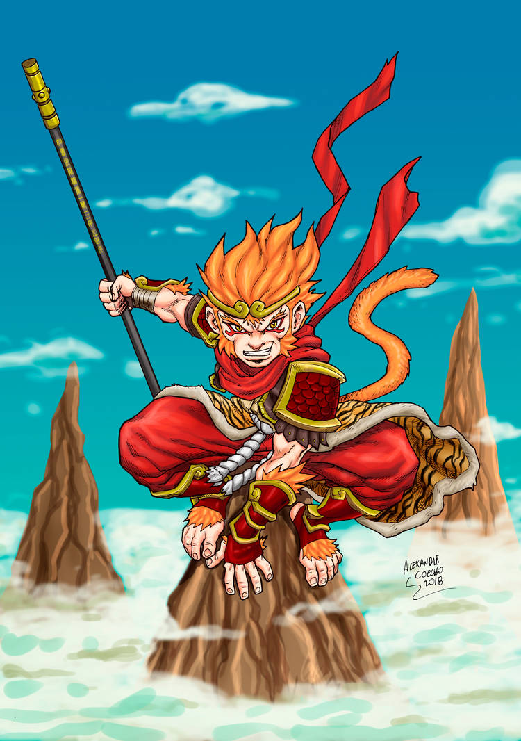 Wukong, The Monkey King by LexSeifer