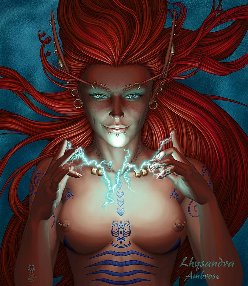 Lhysandra Ambrose by RadiantNeedle