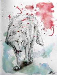 wolf II by awu-art