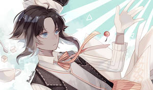 Food Fantasy Fanbook Preview : Brownie
