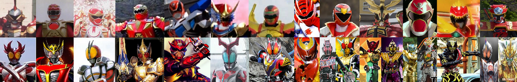 Super Hero Time (Kamen Rider X Power Rangers) by TriadSentuary