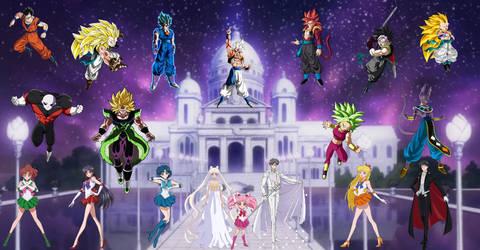 Dragon Ball X Sailor Moon Crystal Mission Final
