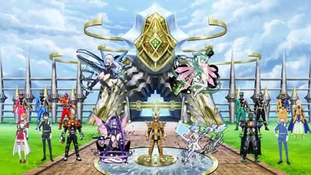 SAO X Dimenssion Neptunia X TOEI Heroes V2