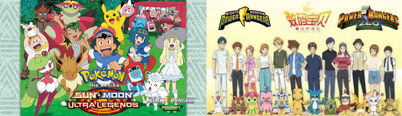 Pokemon Rangers Beast Morphers X Digimon Rangers