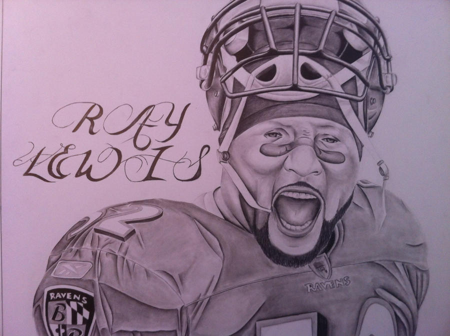 Ray Lewis Drawings Ray lewis by shauntw512