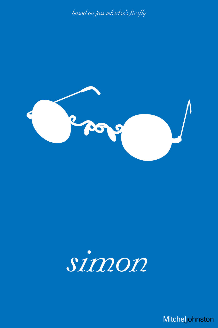Firefly Minimalist Poster - Simon Tam by pmjohnst