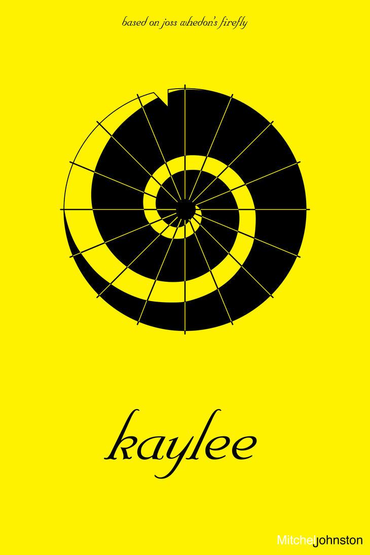 Firefly Minimalist Poster - Kaylee Frye by pmjohnst