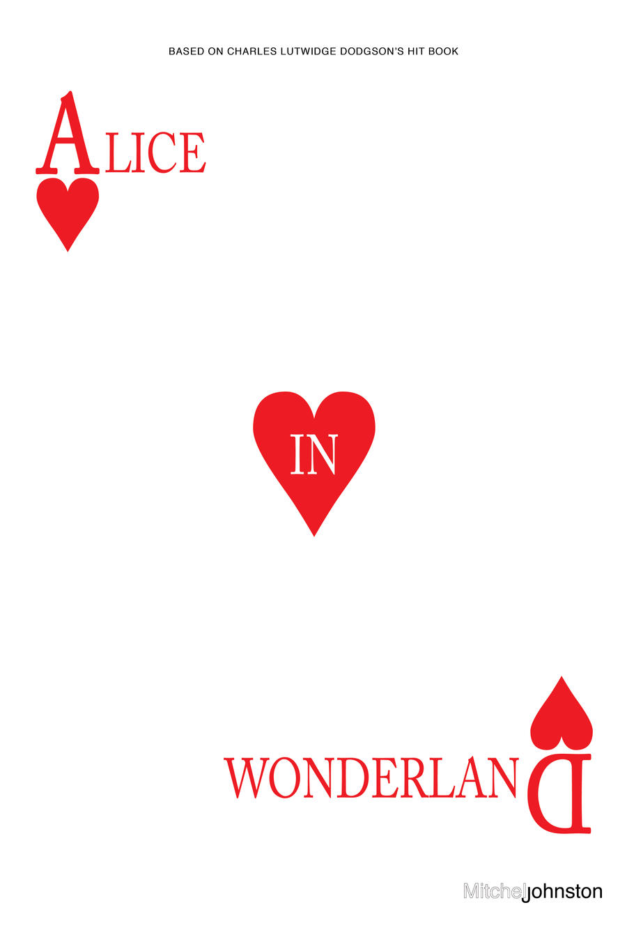 alice in wonderland minimalist poster by pmjohnst on deviantart. Black Bedroom Furniture Sets. Home Design Ideas