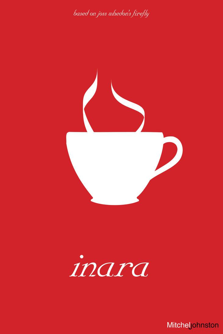 Firefly Minimalist Poster - Inara Sara by pmjohnst