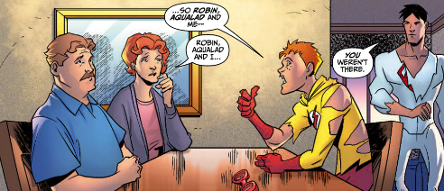Kid Flash and Grammar by LongShot-L