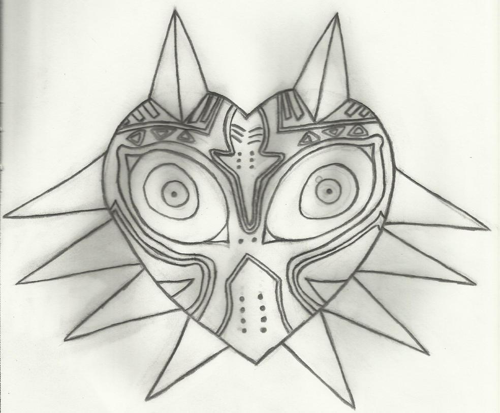 Major'S Mask Drawing 68