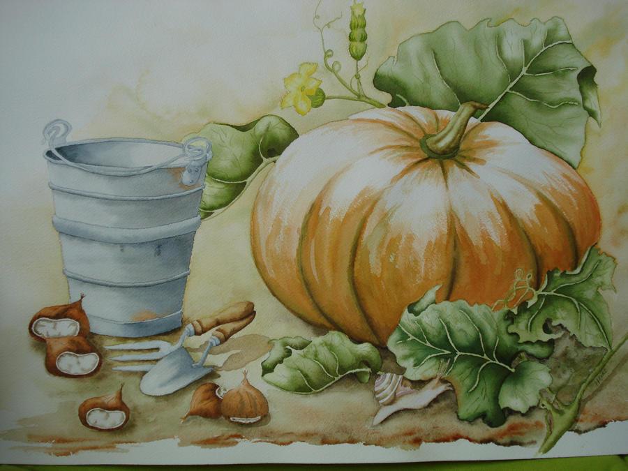 pumpkin by Ahau2