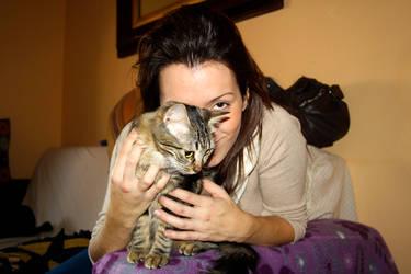 Silvia and Iri by decalcomanie