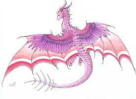 :. Pride Dragons + Lesbian Pride .: by DorkWolf-Nightmare