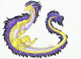 :. Pride Dragons + Non-Binary Pride .: by DorkWolf-Nightmare