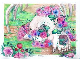 #14 Inktober - Overgrown