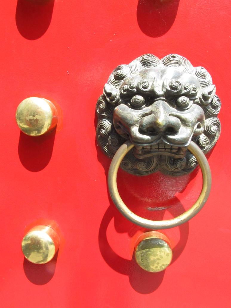 Fu Dog Door Knocker By Sprenklephotography On Deviantart