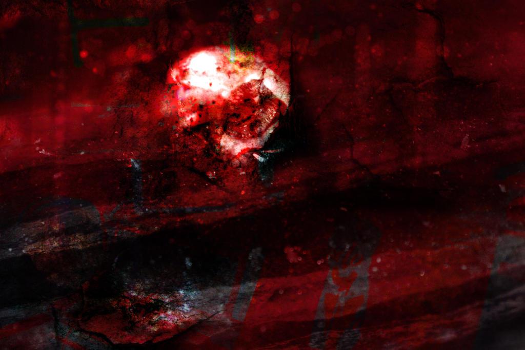 Redish Radioactive Texture by SprenklePhotography