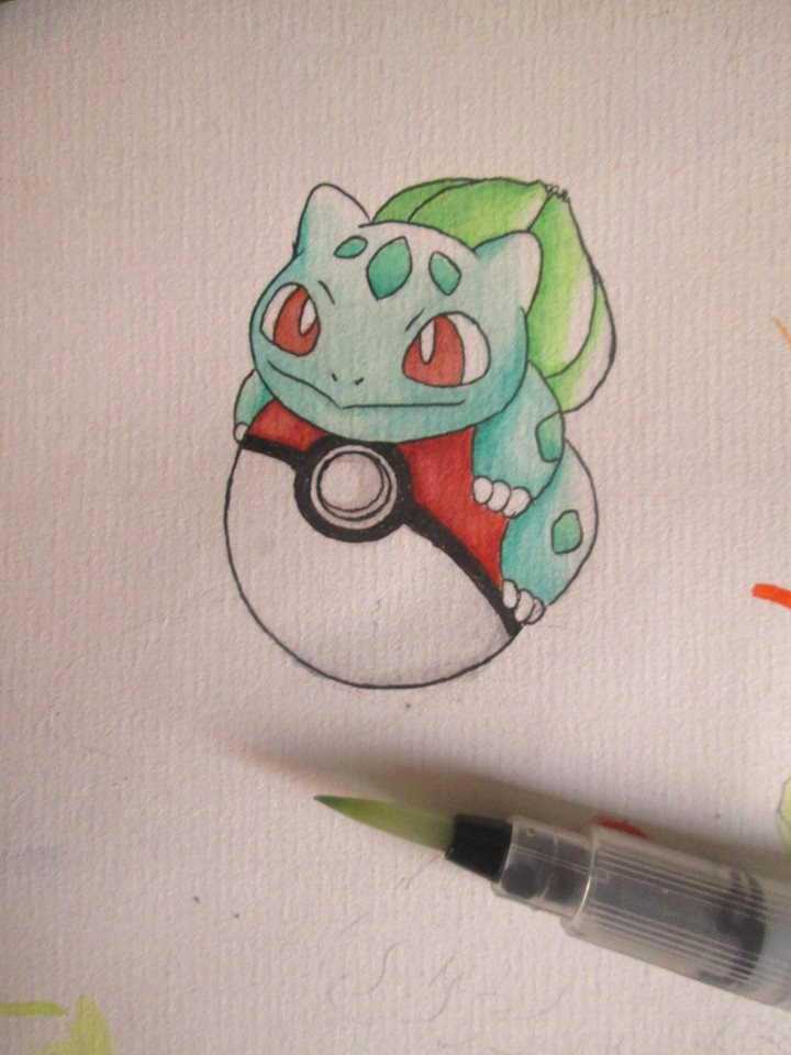 Bulbasaur by AnhKhoiLe