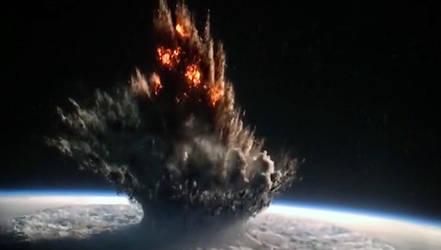 Jedah Explosion, as a vertical panorama by mumblingmutant