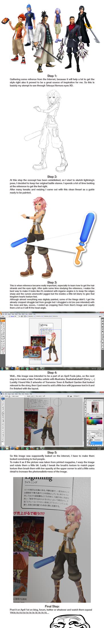 Lightning KH: Step by step by Fabulla