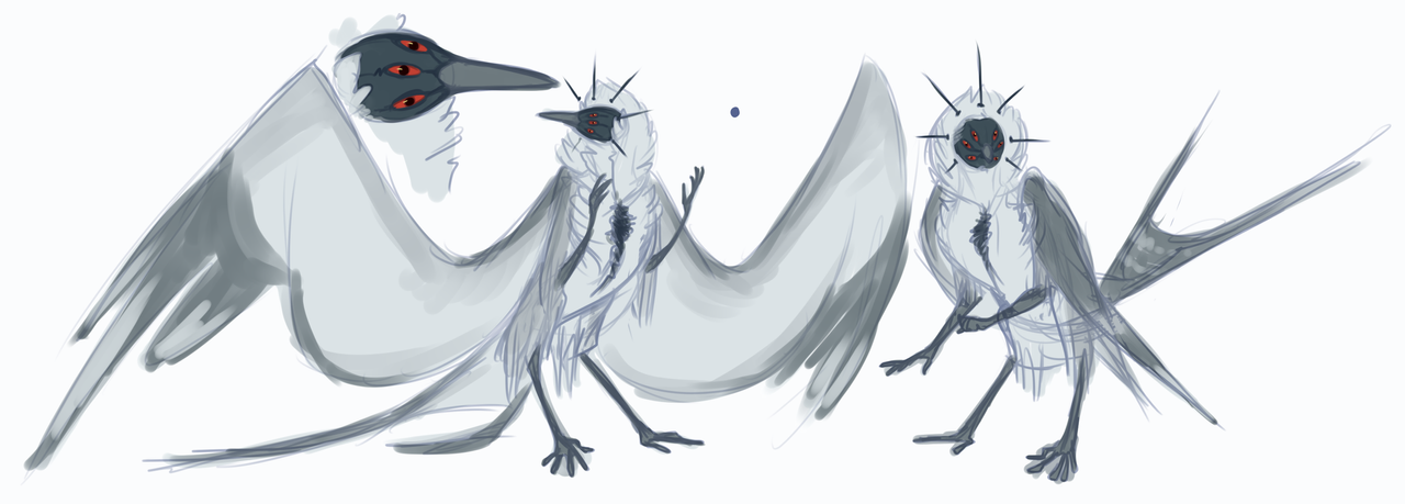 Queen Crow Redesign whOOOAAA by R-WOLFE