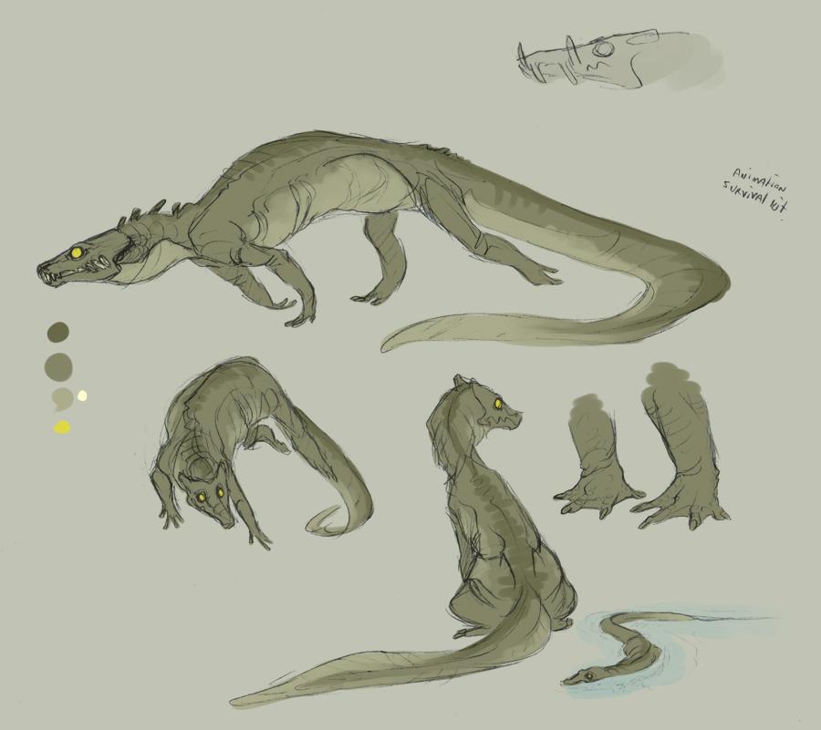 Crocodude by R-WOLFE