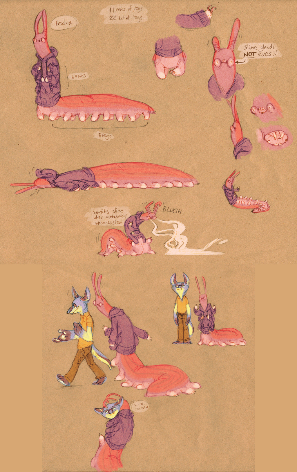 Velvet worms are my life now by VCR-WOLFE