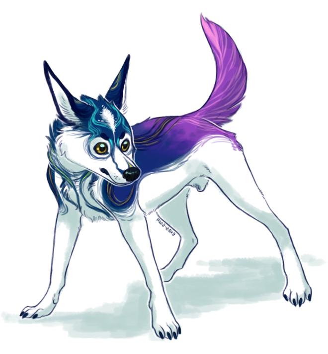 Pretty Doge by R-WOLFE