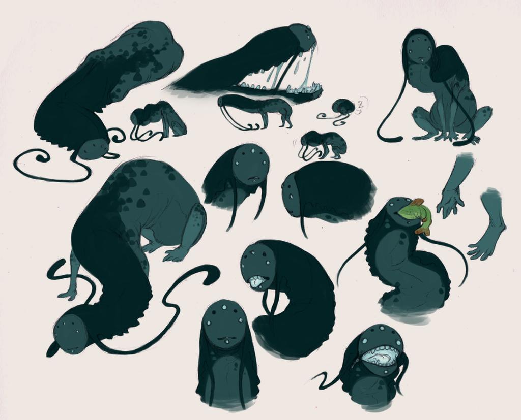 Lil Slug Dude by VCR-WOLFE