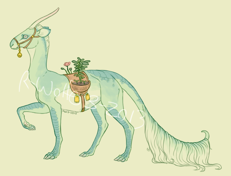 Domestic Kirin design SOLD by R-WOLFE